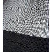 Black Spot Mesh Halterneck Midi Bodycon Dress New Look