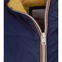 Jack & Jones Navy Sleeveless Jacket New Look
