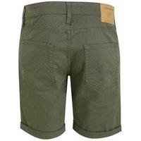 Men's Jack & Jones Dark Green Chino Shorts New Look