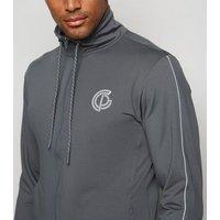 GymPro Grey Training Shell Jacket New Look