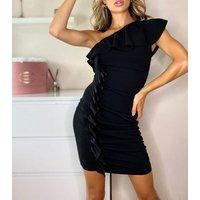 Urban Bliss Black One Shoulder Mini Dress New Look