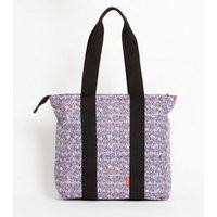 Artsac Pink Scribble Print Tote Bag New Look