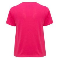 Bright Pink Jersey Twist Front T-Shirt New Look