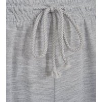 Cameo Rose Pale Grey Joggers New Look