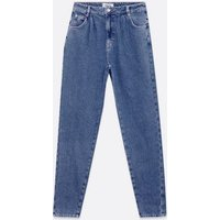 Tall Blue Slouch Nia Balloon Jeans New Look