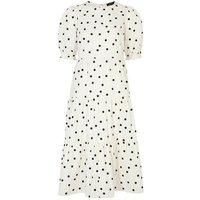 White-Spot-Poplin-Smock-Midi-Dress-New-Look