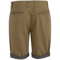 Stone Turn Up Chino Shorts New Look