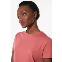 Bright Pink Crew Neck T-Shirt New Look