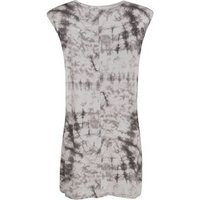 Off White Tie Dye Sleeveless Mini Dress New Look