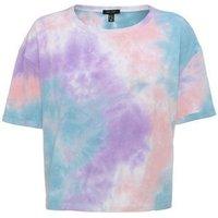 Blue Tie Dye Boxy T-Shirt New Look