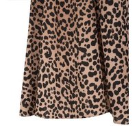 Tall Pink Leopard Print Flippy Shorts New Look