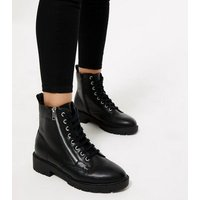 Black 'Lift & Shape' Emilee Jeggings New Look
