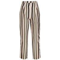 Sunshine Soul Green Stripe High Tie Waist Trousers New Look