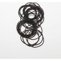 30 Pack Black Hair Bands New Look