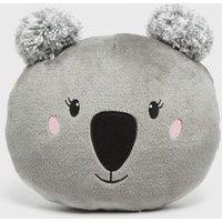 Dark Grey Koala Cushion New Look