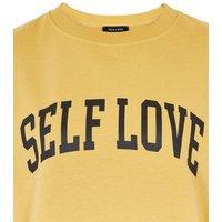Mustard-Self-Love-Slogan-Jersey-Sweatshirt-New-Look