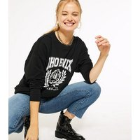 Black Phoenix Arizona Logo Sweatshirt New Look