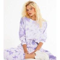 Lilac-Tie-Dye-Sweatshirt-New-Look