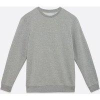 Men's Only & Sons Pale Grey Sweatshirt New Look