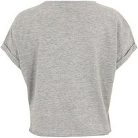 Girls Grey Self Love Club Slogan T-Shirt New Look