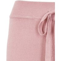 Pale Pink Knit Slim Joggers New Look