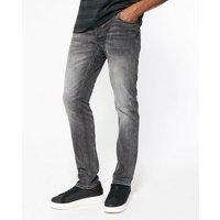 Jack & Jones Black Washed Slim Jeans New Look