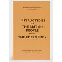 Orange Instructions For The British People During The Emergency Book New Look