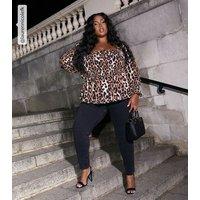Curves Black 'Lift & Shape' Yazmin Skinny Jeans New Look