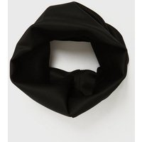 Men's Black Plain Snood New Look