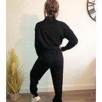 Urban Bliss Black High Neck Sweatshirt New Look