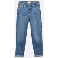 Petite Blue Waist Enhance Tori Mom Jeans New Look