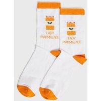 White Lady Marmalade Socks New Look