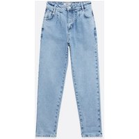 Bright Blue Slouch Nia Balloon Leg Jeans New Look