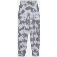 Girls Light Grey Tie Dye Detroit Logo Slim Leg Joggers New Look