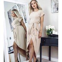 Missfiga-Stone-Short-Sleeve-Wrap-Midi-Dress-New-Look