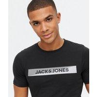 Men's Jack & Jones Black Loungewear Set New Look
