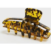 Brown Resin Bulldog Claw Clip New Look