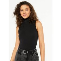 Black Leather-Look Western Buckle Belt New Look