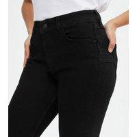 Petite Black Lift and Shape Jenna Skinny Jeans New Look