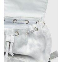Girls Pale Grey Tie Dye Backpack New Look Vegan