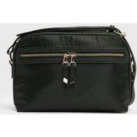 Black Pocket Front Cross Body Bag New Look Vegan