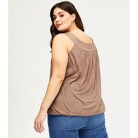 Curves-3-Pack-Black-White-and-Tan-Bubble-Hem-Tops-New-Look