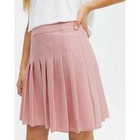 Girls Pink Pleated Mini Tennis Skirt New Look