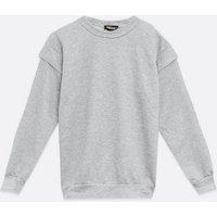 Pink-Vanilla-Grey-Oversized-Frill-Sweatshirt-New-Look