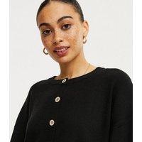 Cameo Rose Black 2 in 1 Shirt Cardigan New Look