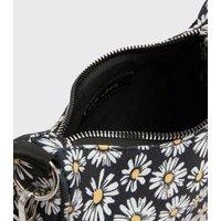 Girls Black Daisy Shoulder Bag New Look
