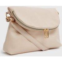 Pink Zip Cross Body Bag New Look Vegan