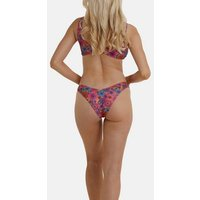 Wolf & Whistle Pink Floral Hipster Bikini Bottoms New Look