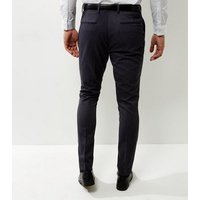 Mens Dark Grey Slim Fit Suit Trousers New Look