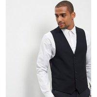 Mens Blue Suit Waistcoat New Look